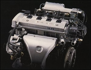 Toyota 7A-FE Engine